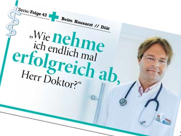 Wie <strong>nehme</strong> ich endlich <strong>erfolgreich ab</strong>, Herr Doktor?
